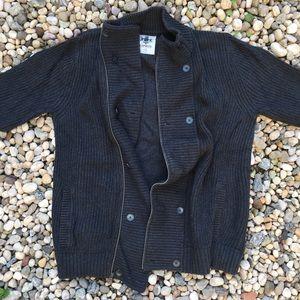 Express Men's Button / Zip Up Turtleneck Sweater